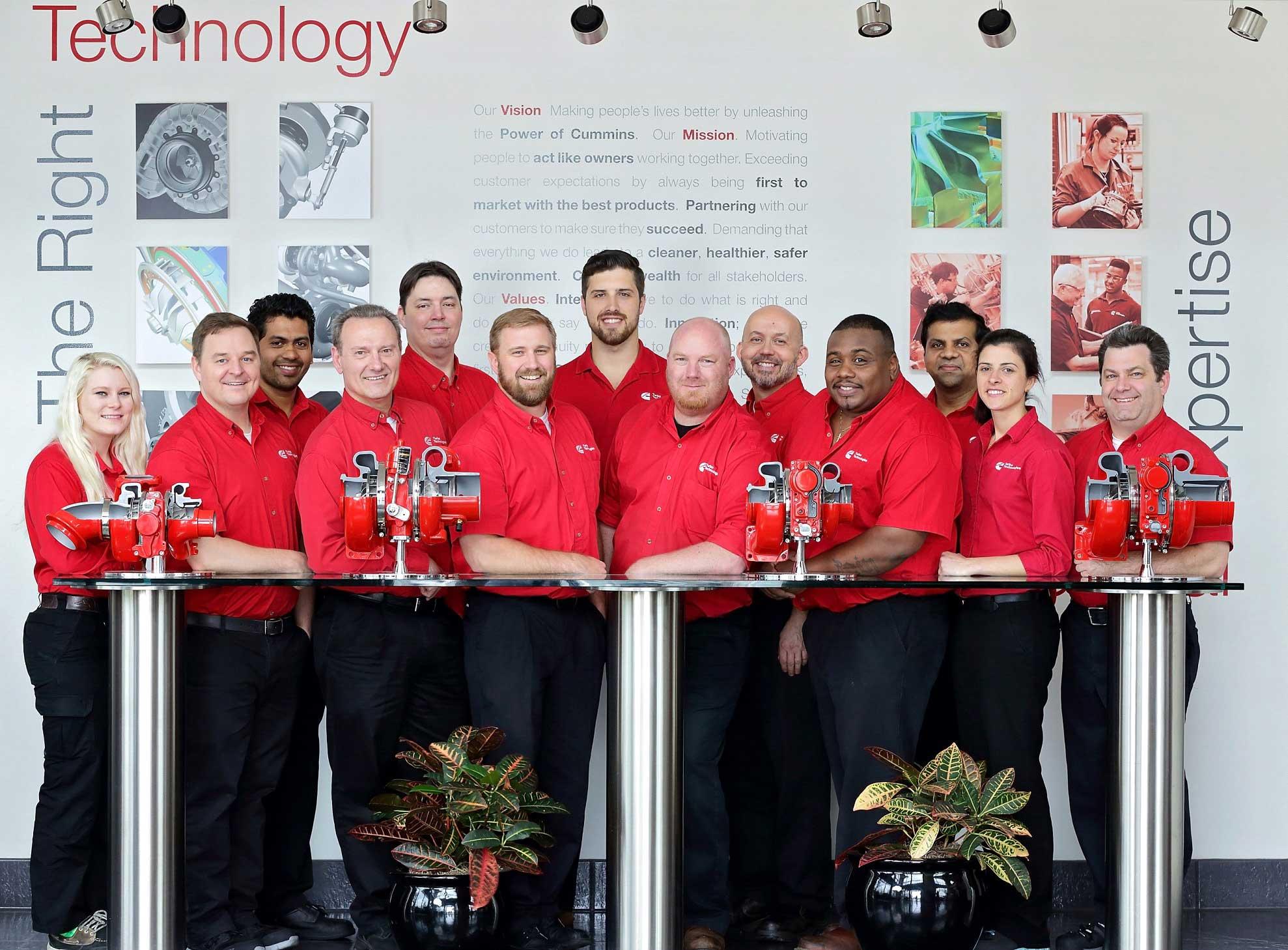 Turbo Energy corporate engineer group photo